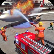 城市消防车救援模拟器