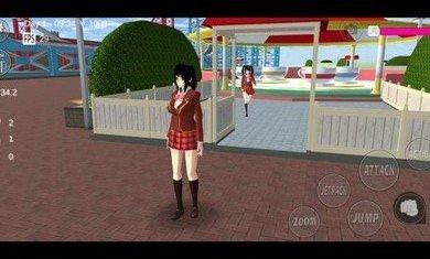 樱花校园模拟器2021年最新版中文版下载-樱花校园模拟器2021年联机版下载