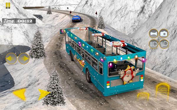 圣诞雪巴士驾驶员2021